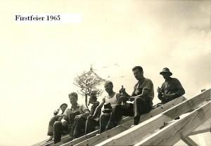 1. Firstfeier 1965