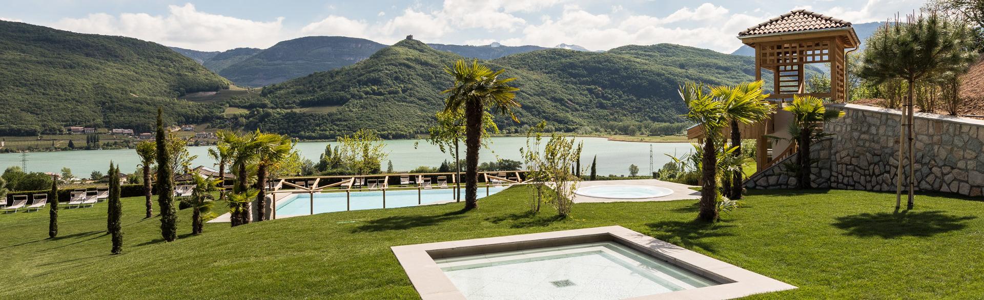 Ausblick-Badelandschaft